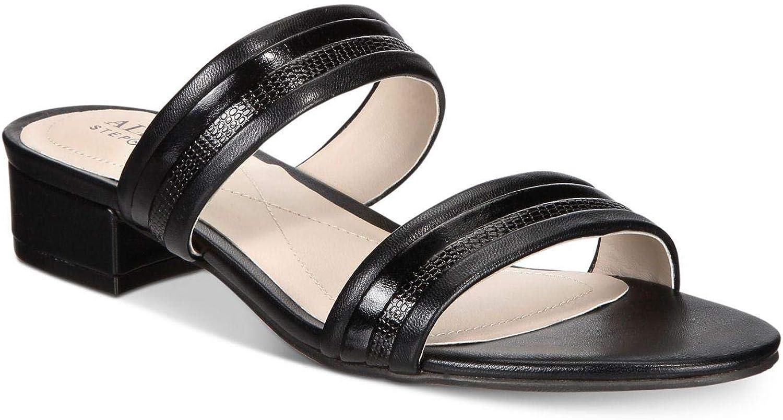 Alfani Womens Monikah Open Toe Casual Slide Sandals