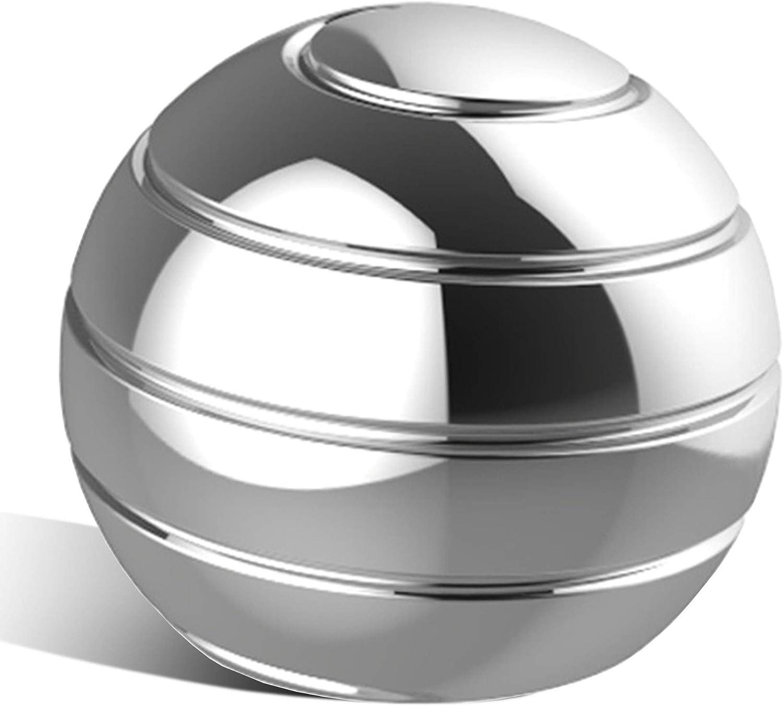 QUMAX Kinetic Desk Toy Stress Relief Toy Metal Fidget Optical Il