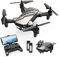 DEERC D20 Mini Drone for Kids with 720P HD FPV Camera Remote Control Toys Gifts for Boys Girls with Altitude Hold, Headles...