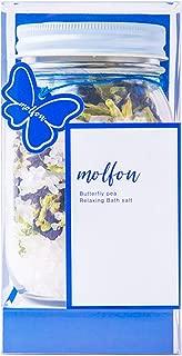 リラクシングバスソルト 青い風呂 冷え性軽減 疲労回復 育毛 肌荒れ改善 バタフライピー Butterfly Pea アンチャン チョウマメ