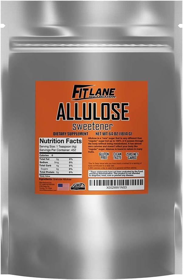 Deluxe Allulose Max 61% OFF Sweetener 100% Pure Non GMO Zero b Keto Carb Sugar Net