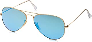 Ray-Ban, RB3025, Large Metal Aviator Sunglasses 58 mm, G-15 Lenses, 100% UV Protection, Non-Polarized Sunglasses