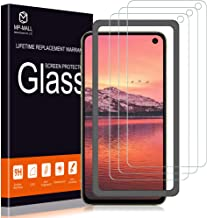 MP-MALL [3-Pack] Screen Protector for Samsung Galaxy S10e Tempered Glass [9H Hardness] Case Friendly [Easy Installation Frame] with Lifetime Replacement Warranty