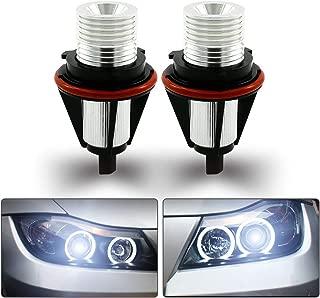 Angel Eye Halo Anillo Bombillas Maso LED día iluminación de la hora libre de errores para E39 E87 E60 E63 E65 E66 E53 Xenon blanco