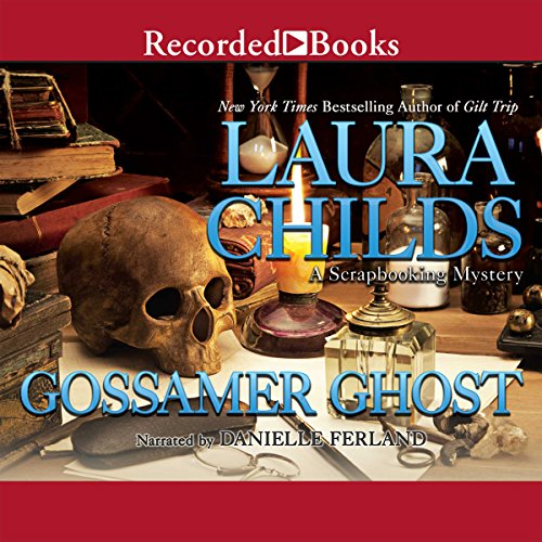Gossamer Ghost audiobook cover art