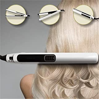 Hair Straightener - with Anti-Scald, Floating Ceramic Plates , 5 Heat Levels, Thermostat,Auto Off,Locking Function, 360 Sw...