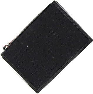GUCCI(グッチ) パスケース GG 135592 ブラック キャンバス レザー 中古 黒 定期入れ ICカード カードケース シェリーライン GUCCI [並行輸入品]