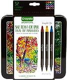 Crayola Marker mit doppelter Spitze, verschiedene Farben, 16 Stück, Einheitsgröße