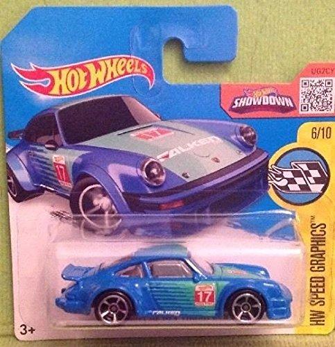 Hot Wheels 2016 HW Speed Graphics, Porsche 934 Turbo RSR [Blue] Die-Cast Vehicle 181/250 (Short Card)