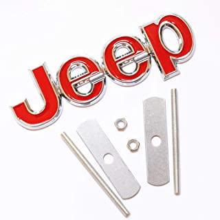 Best jeep grill badge Reviews