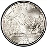 2006 D Satin Finish Colorado State Quarter Brilliant Uncirculated in Mint State Condition Package in 2 by 2 Archival Safe Flip 38th State Quarter Issued by U.S.Mint
