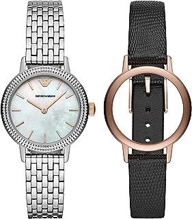 Emporio Armani Women's AR80020 Analog Quartz Black Watch