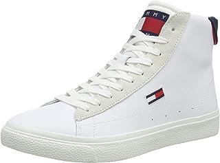 Tommy Jeans Herren Retro Vulc High TJM Leather Sneaker
