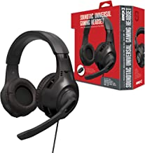 """Armor3 """"Soundtac"""" Universal Gaming Headset (Black) for Xbox Series X/ Xbox Series S/ Nintendo Switch/ Lite/ PS4/ PS5/ Xbox..."""