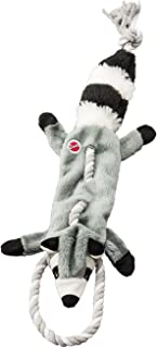 """Ethical Pets Forest Raccoon Skinneeez Tugs Stuffingless Dog Toy, 23"""""""