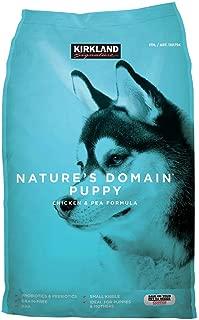 Bulkidoki Nature's Domain Puppy Formula Chicken & Pea Dog Food 20 lb.