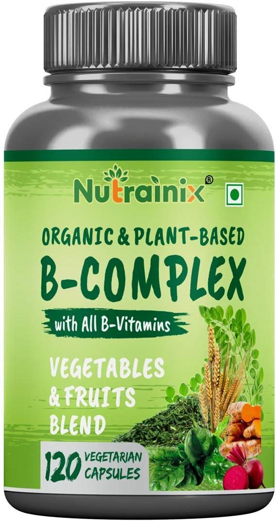 Lendom Nutrainix Organic Plant-Based B Popular brand in the world for Complex Vitamin Max 77% OFF Hai