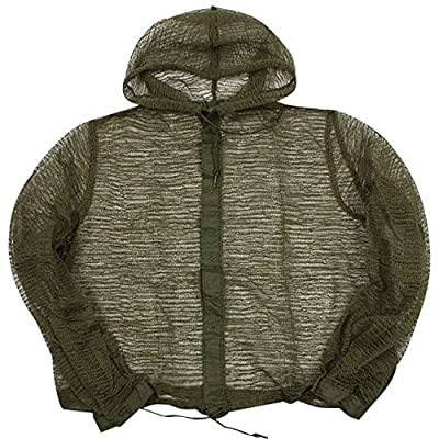 Military Outdoor Clothing 2225M Previously Issued U.S. G.I. Medium Mosquito Parka with hood