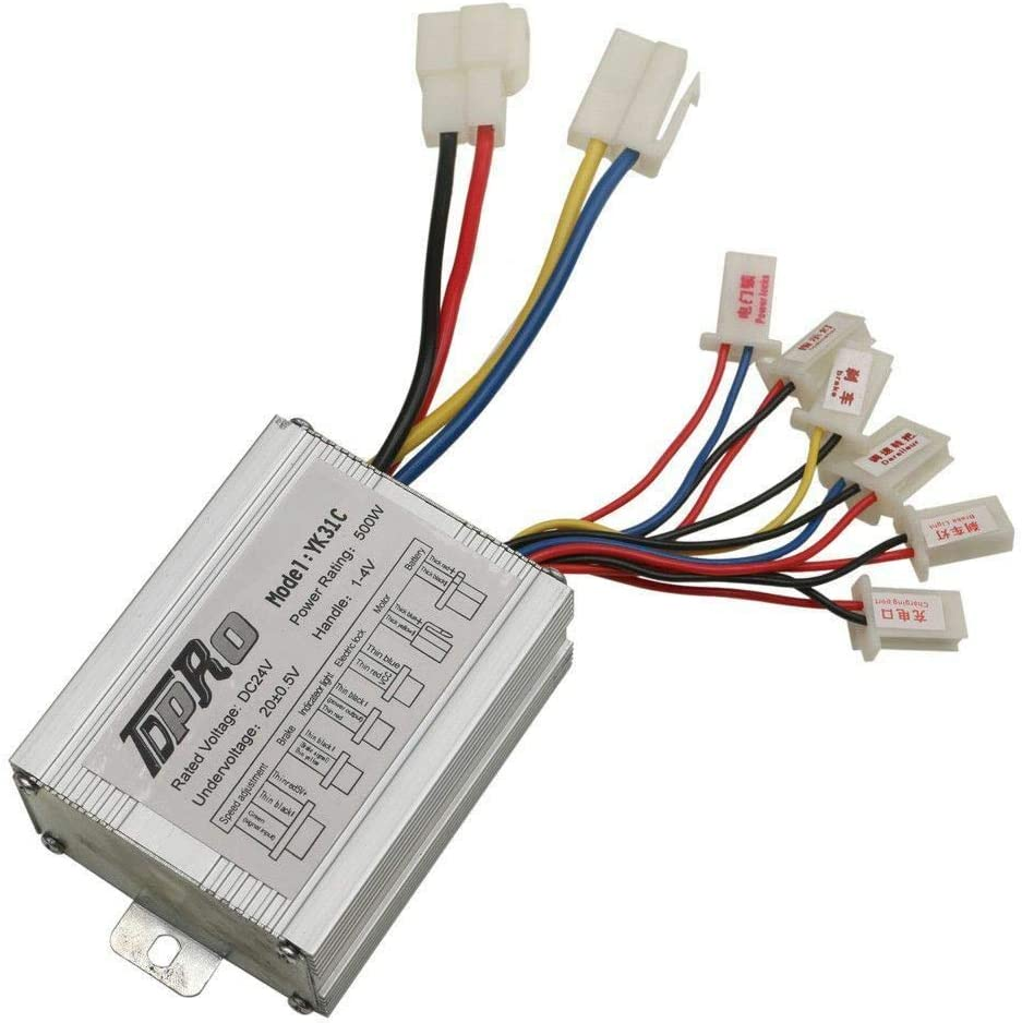 Sejahtera 24V 55% OFF 500W - Motor Controller Compatible wi Brush safety Speed