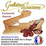 Sausage Guillotine, La Petite Merveille Slicing Machine & Knife Offered INVENT & CREATED BY THE SHIPPARD MODEL HIGH-POWERED CUTTING MODEL