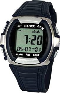 CADEX V8 Watch, Up to 8 Alarms, Strong Vibrating and/or Sound Alarms