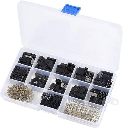 SENRISE Lot de 5 extracteurs de vis avec /étui pour retirer les vis cass/ées ou endommag/ées