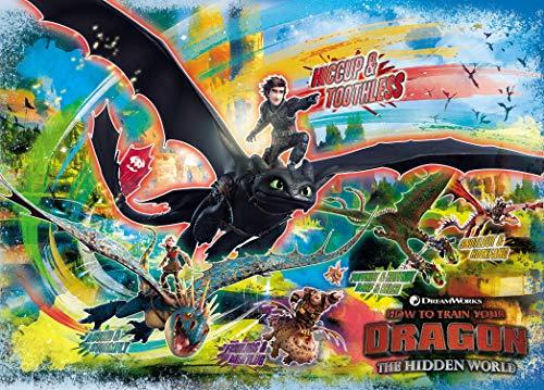 500ピースジグソーパズル ヒックとドラゴン ライダーズ&ドラゴンズ(38x53cm)