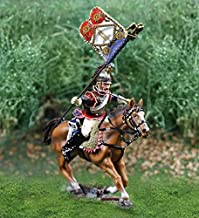 Napoleonic Toy Soldiers French Cavalry Curassier Flagbearer Collectors Showcase Toy Soldiers Painted Metal Figure CS00810 Britains King Country Type