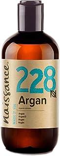 comprar comparacion Naissance Aceite Vegetal de Argán de Marruecos n. º 228 – 250ml - Puro, natural, vegano, sin hexano y no OGM - Hidratación...