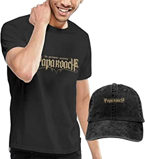 Papa Roach Rock Band Men's Cool T-Shirts and Caps Combination Black