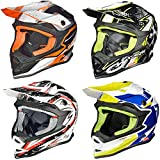 RK-652 Kinder Crosshelm Endurohelm Motorradhelm Roller Quad Helm Kinderhelm, Größe:XS (53-54), Farbe:Black Coolplay