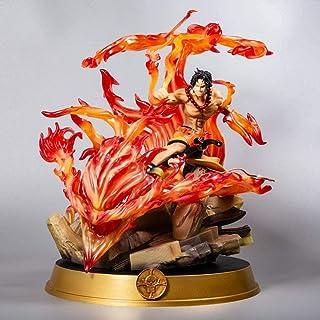 LF-YGJ Figura de Anime Portgas D Ace 39cm-Super Puño de Fuego Ace-Figurilla decoración Adornos coleccionables Juguete anim...