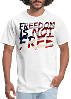 Freedom is Not Free Memorial Day Men's T-Shirt