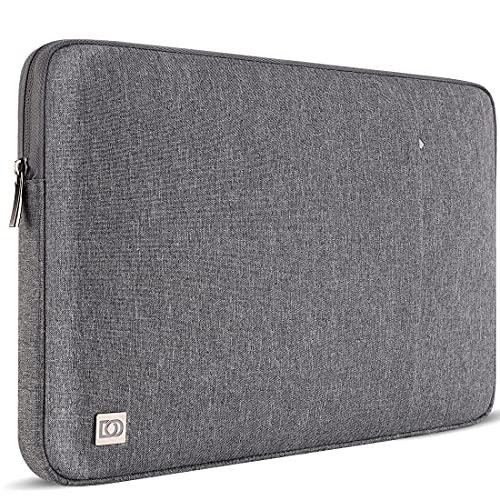 DOMISO - Funda protectora para ordenador portátil de 13' MacBook Air/Surface Book 2/Lenovo Yoga C930/ThinkPad X1 Carbon/Huawei MateBook D/Asus ZenBook/Dell Inspiron 13,gris