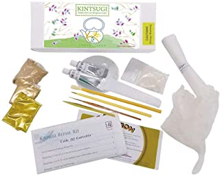 Kintsugi Repair Kit with Low Allergenic Urushi- Japanese Urushi Lacquer from Japan, Kintsukuroi