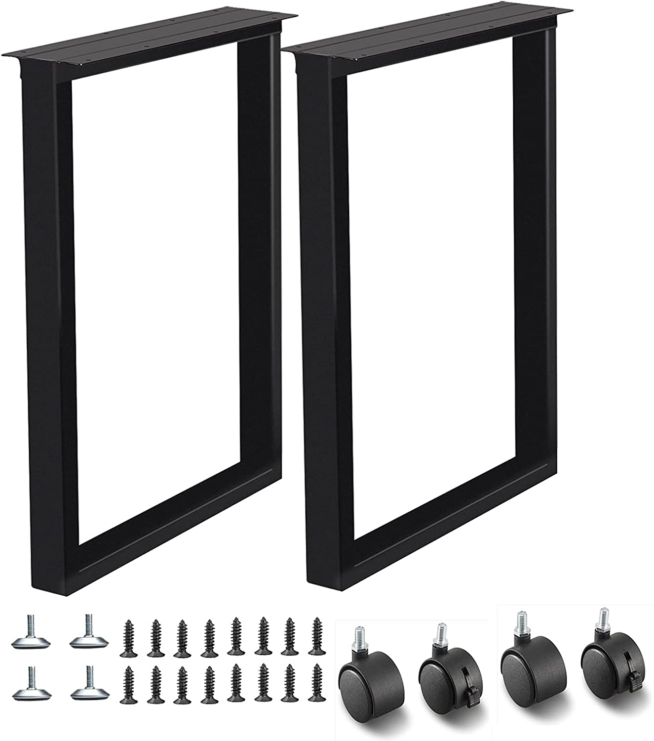 """shipfree Cyironcy Metal Table Legs 28 17.7"""" Height Max 53% OFF Square Wide inch"""