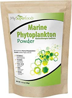 Marine Phytoplankton Powder (100g/3.5 oz), MySuperfoods, Purest Food on Earth, Cultivated from The Deep Sea, Rich in Micronutrients, Add to Juices, Smoothies, Shakes