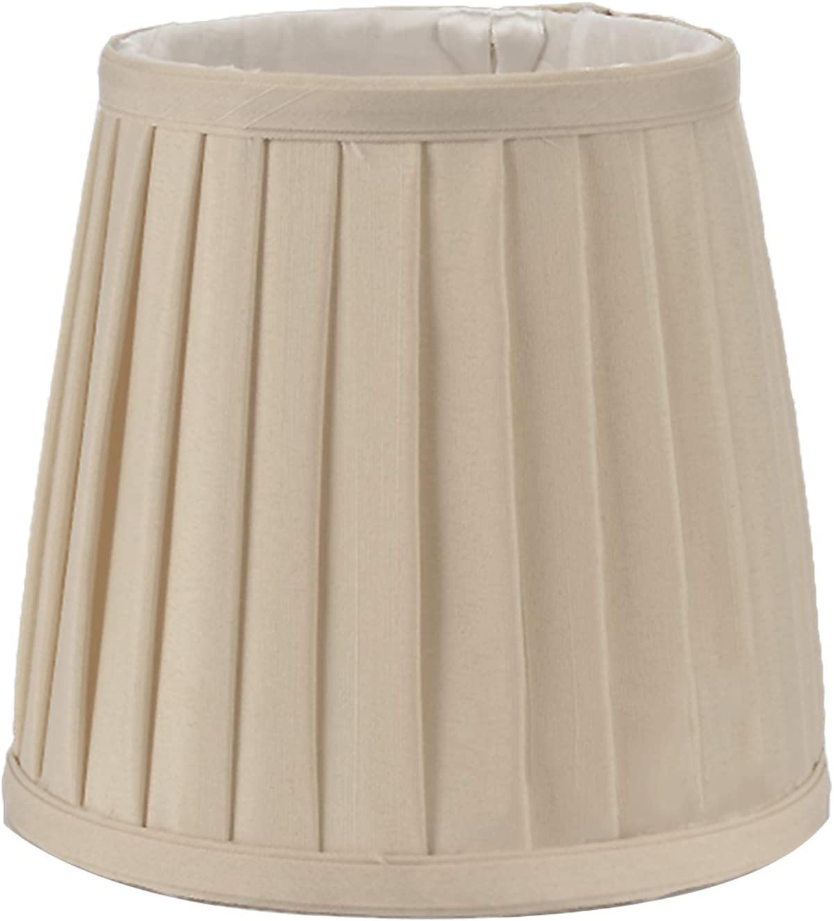 HYJHDD Traditional Classic Free shipping Pleated Suitable Max 54% OFF Lampshade for Candl