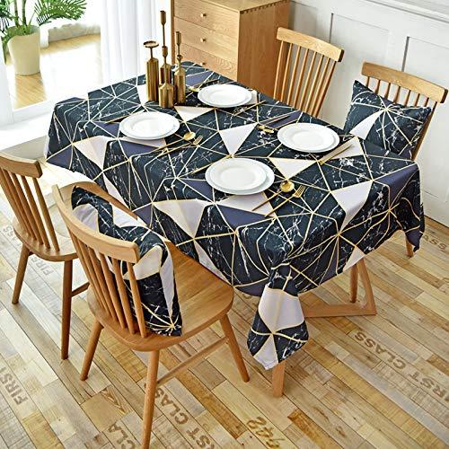 LIUJIU Mantel de poliéster súper suave para mesa de boda, restaurante, buffet, picnic, 90 x 90 cm
