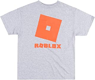 Roblox Red Logo Game Based Youth T-Shirt Kids Boys Girls Heather Gray X-Large