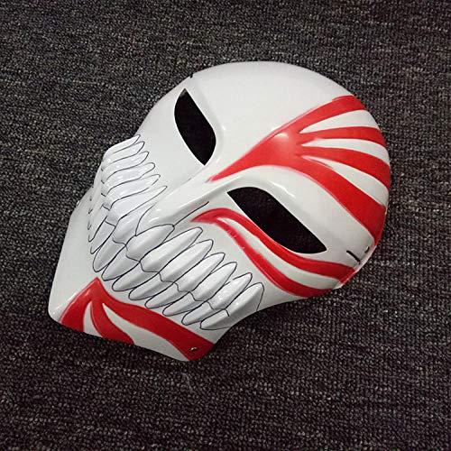 YiYuDe Máscaras para Adultos Halloween Horror Killer Street Dance Death Harvest Day Bailarina Vendetta, Rojo Muerte