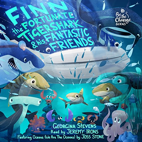 Finn the Fortunate Tiger Shark and His Fantastic Friends audiobook cover art