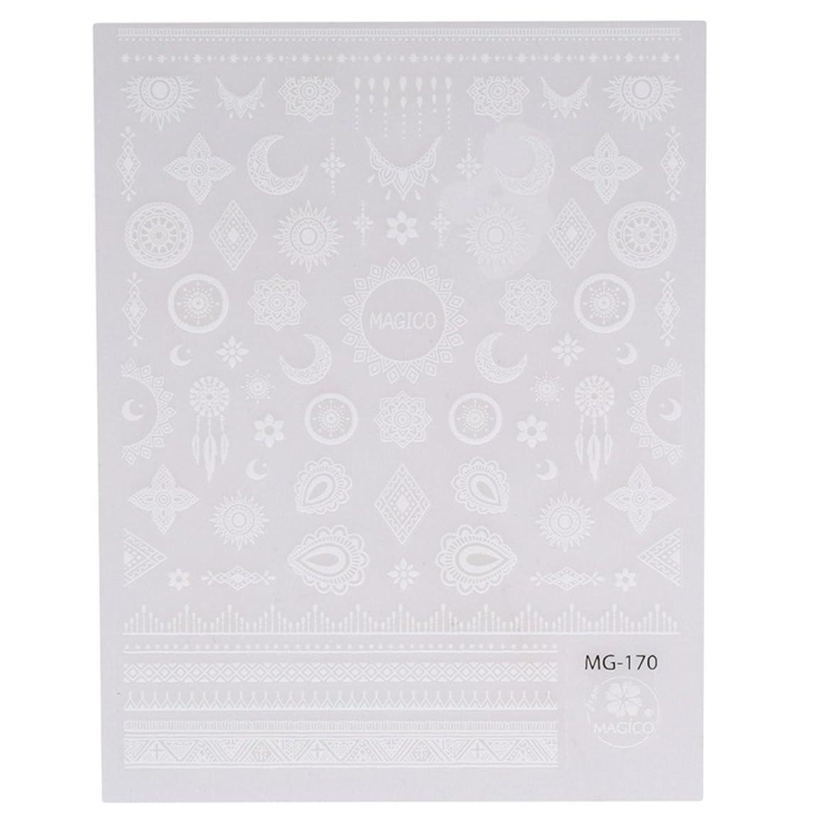今晩水新鮮なJIOLK ネイルシール レース ネイルステッカー 星 月 ネイルアート 貼るだけでいい 可愛い ネイル飾り ネイル パーツ アクセサリー
