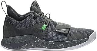 Nike Men's PG 2.5 Basketball Shoes (Grey/White, 11.5 M US)…
