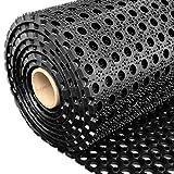 Profi Ringgummimatte von etm | Gummimatte für den Eingangsbereich außen und innen | Matte mit robuster Ringgummi Struktur | Größe wählbar (40x60 cm)