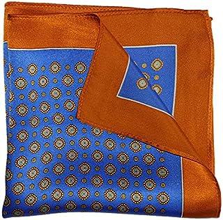 The Orange League Silk Pocket Square