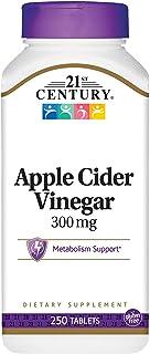 21st Century Apple Cider Vinegar 300mg 250 tablets (Pack of 2)