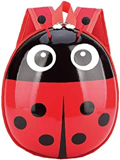 Bolsa Bolsa 1PC Escuelita Niños Mariquita Mochila Kids School Bolsa de Nylon Lindo del abejorro Animal Mariquita del Bolso de Escuela Animal Bookpack