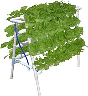 72 Sites Grow Hydroponic Ladder Plant Flower Vegetable Garden System Tool Kit