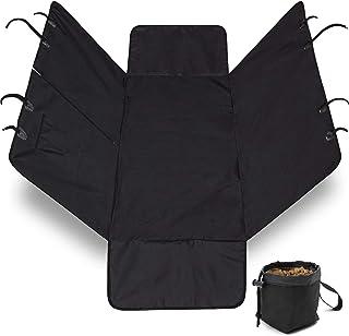 (Hammock) - The Original GORILLA GRIP (TM) Non-Slip Pet Car Seat Protector for Pets, Waterproof, Underside Grip (Black)